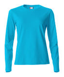 Basic-T L/S Ladies turkoosi (54)