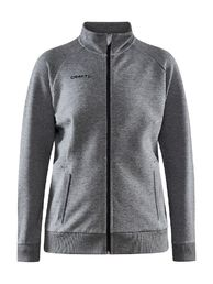 Core Soul Full Zip Jacket Women - tumma harmaameleerattu